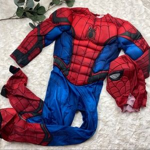 Spider man costume youth size large 12-14